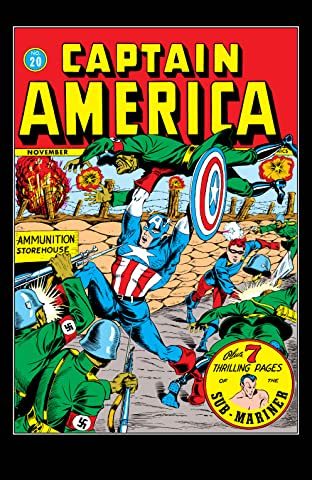 Captain America Comics (1941-1950) #20