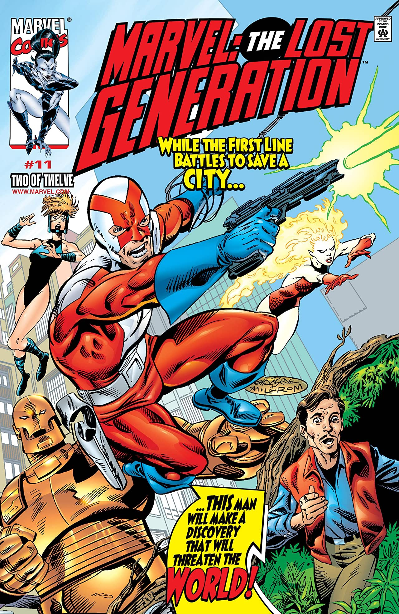 Marvel: The Lost Generation (2000-2001) #11