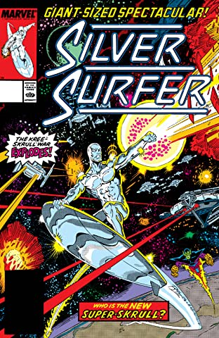 Silver Surfer (1987-1998) No.25