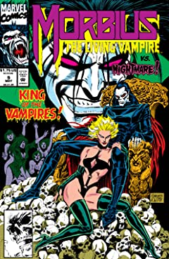 Morbius: The Living Vampire (1992-1995) #9