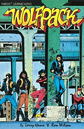 Marvel Graphic Novel: Wolfpack (1987) #1