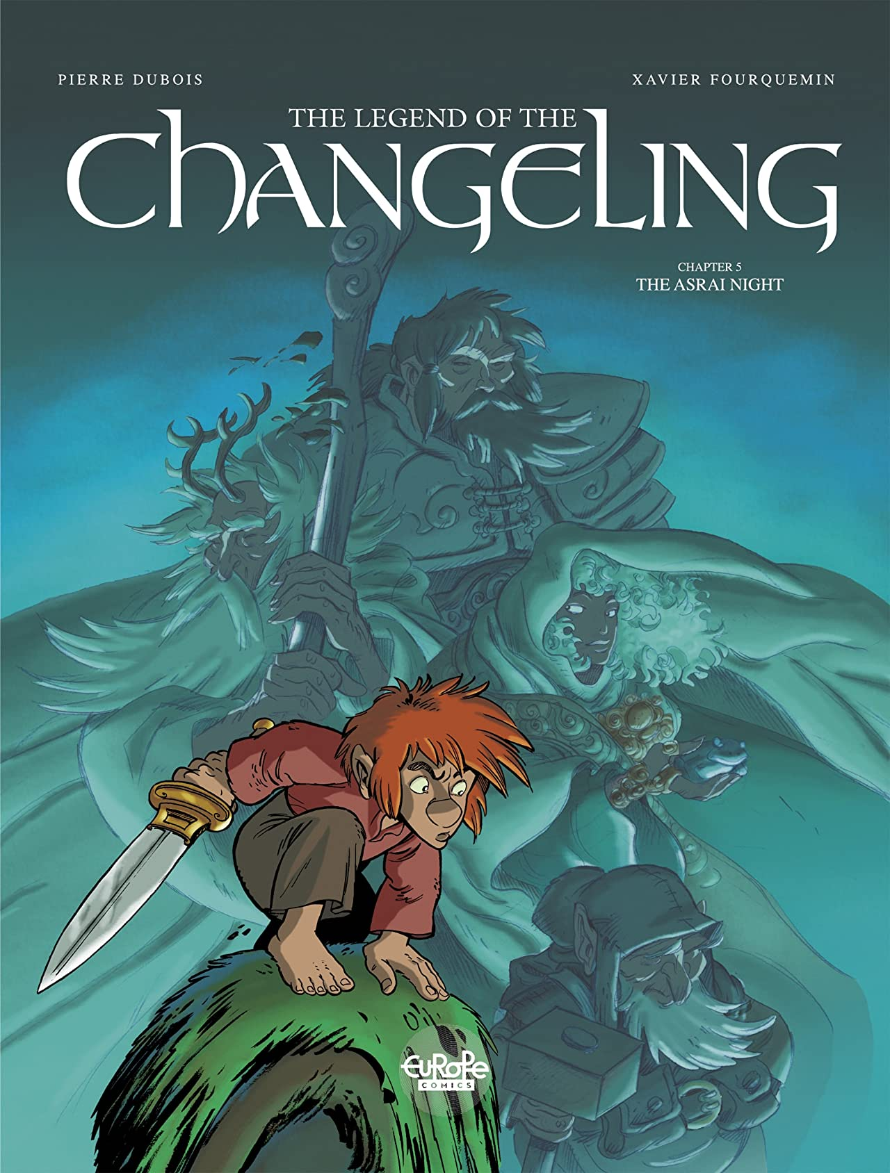 The Legend of the Changeling Tome 5: The Asrai Night