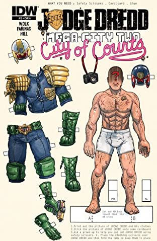 Judge Dredd: Mega-City Two No.2 (sur 5)