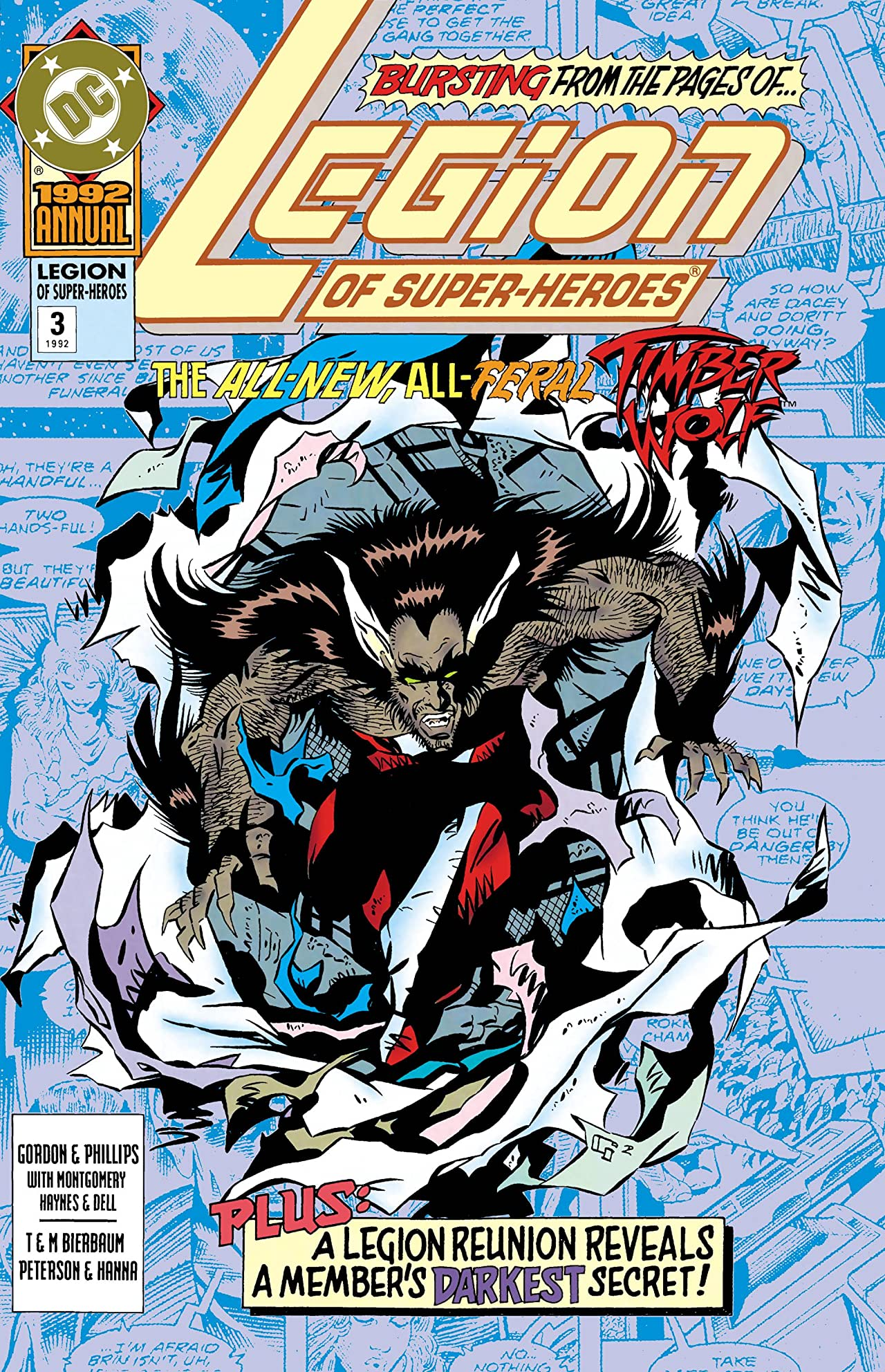 Legion of Super-Heroes (1989-2000) Annual #3