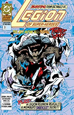 Legion of Super-Heroes (1989-2000) Annual No.3
