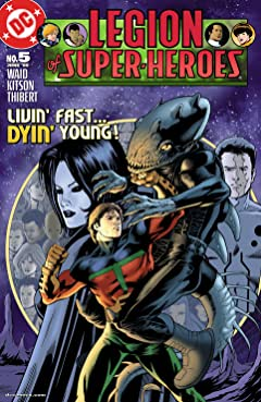 Legion of Super Heroes (2005-2009) No.5