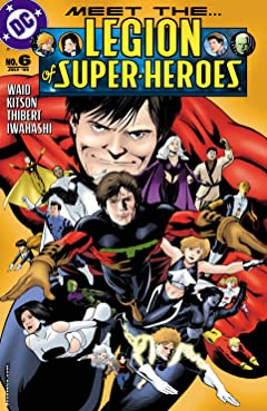 Legion of Super Heroes (2005-2009) No.6