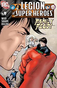 Legion of Super Heroes (2005-2009) No.8