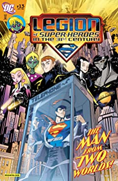 Legion of Super-Heroes in the 31st Century (2007-2009) No.13