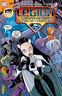 Legion of Super-Heroes in the 31st Century (2007-2009) No.14