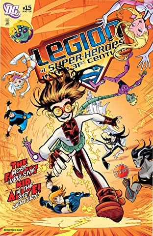 Legion of Super-Heroes in the 31st Century (2007-2009) #15