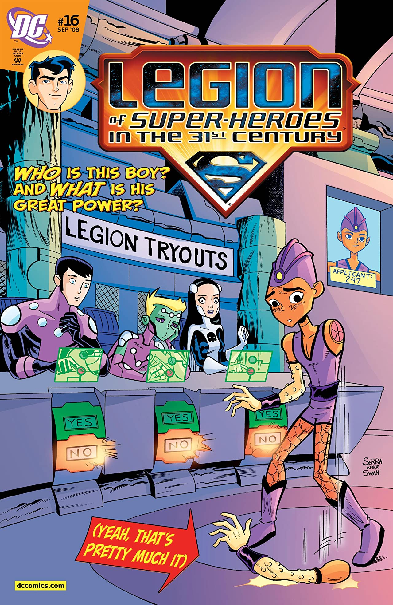Legion of Super-Heroes in the 31st Century (2007-2009) #16