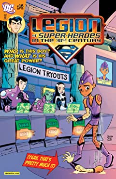 Legion of Super-Heroes in the 31st Century (2007-2009) No.16
