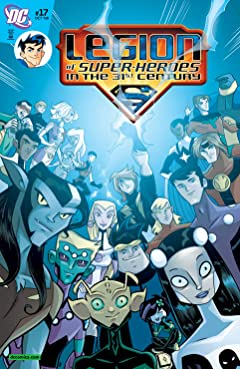 Legion of Super-Heroes in the 31st Century (2007-2009) No.17