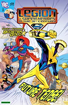 Legion of Super-Heroes in the 31st Century (2007-2009) No.19