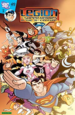Legion of Super-Heroes in the 31st Century (2007-2009) No.20
