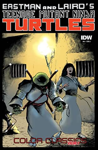 Teenage Mutant Ninja Turtles: Color Classics Tome 2 No.4