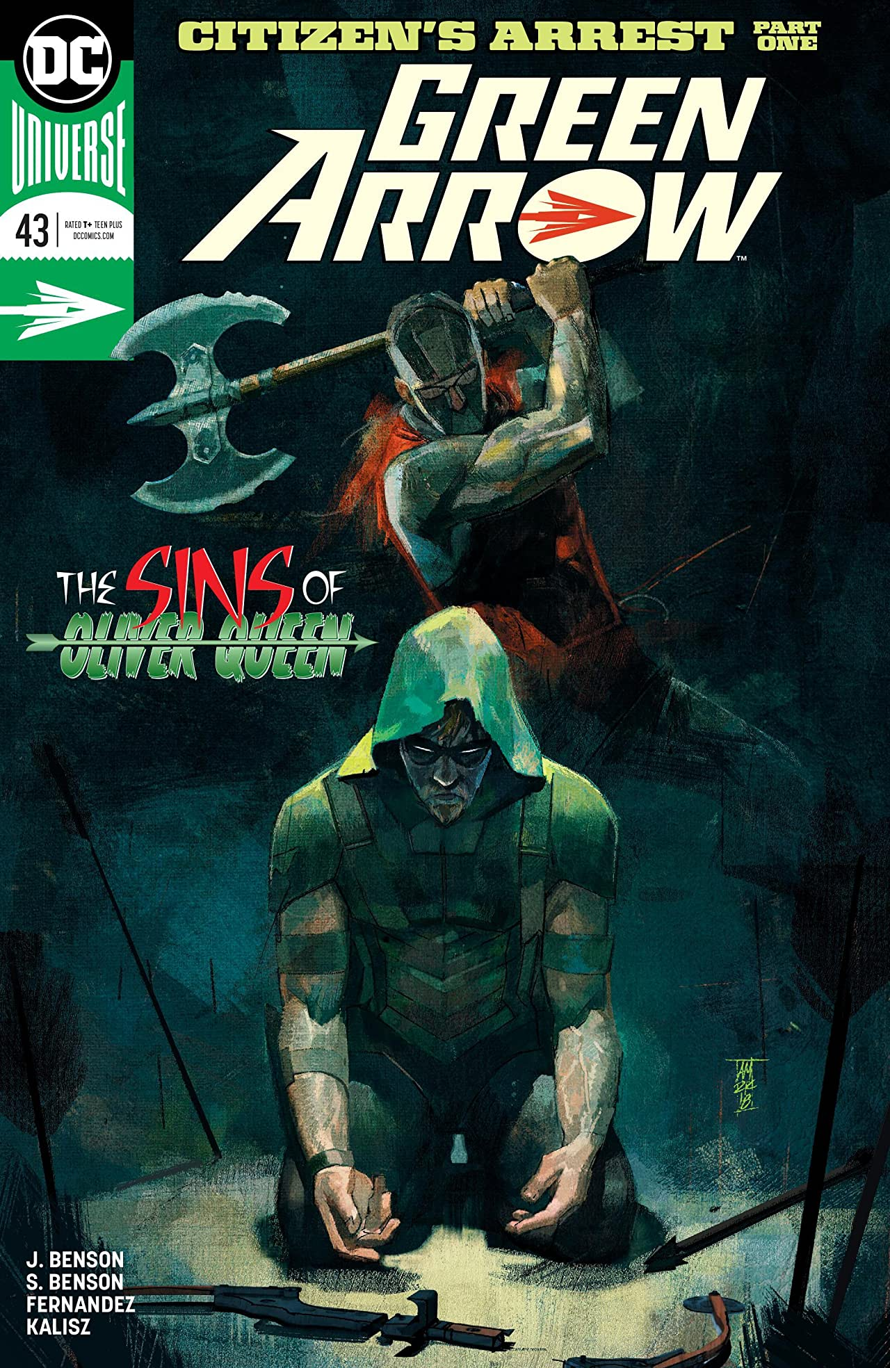 Green Arrow (2016-2019) #43