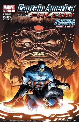 Captain America & the Falcon #8