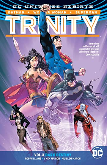 Trinity (2016-) Vol. 3: Dark Destiny
