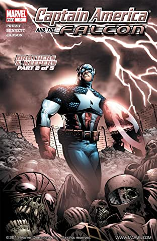Captain America & the Falcon #9