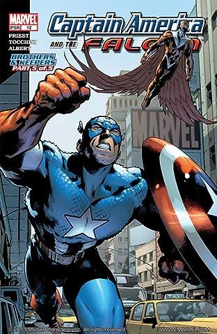 Captain America & the Falcon No.12