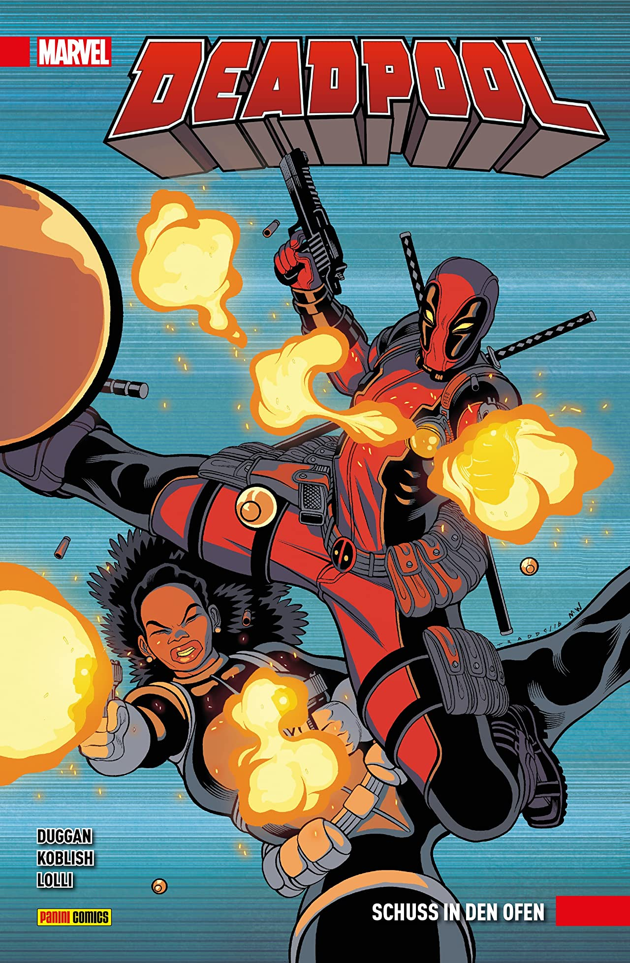 Deadpool Vol. 4: Schuss in den Ofen
