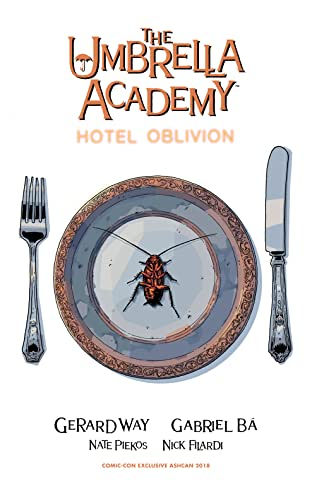 The Umbrella Academy: Hotel Oblivion Ashcan (Convention Exclusive)