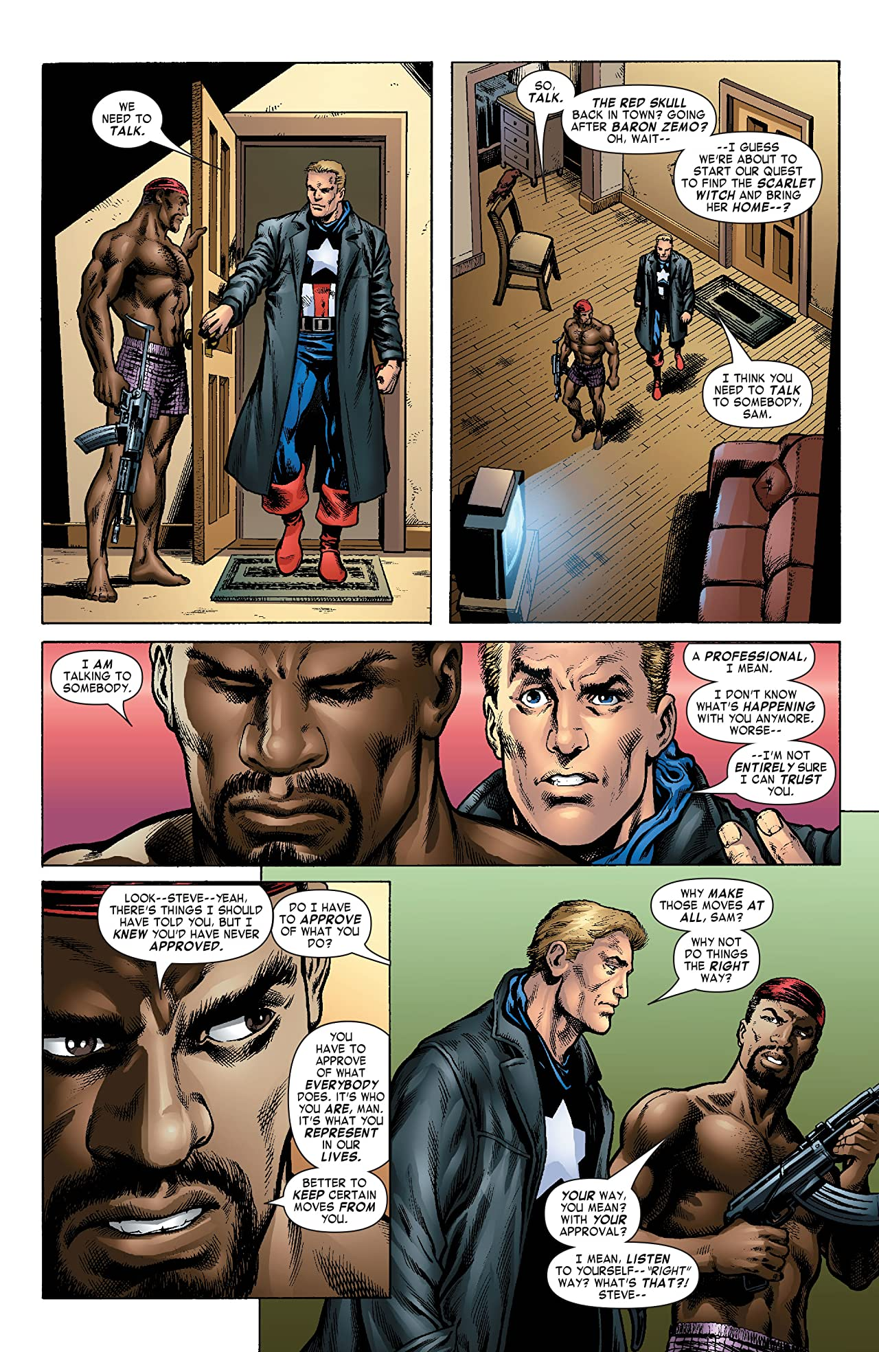 Captain America & the Falcon #13