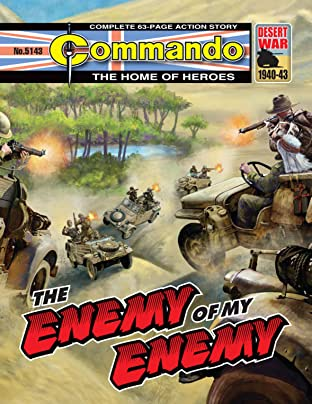 Commando #5143: The Enemy Of My Enemy