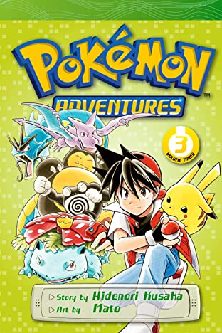 Pokémon Adventures (Red and Blue) Vol. 3
