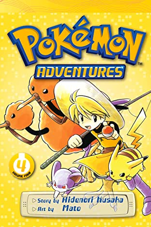 Pokémon Adventures (Red and Blue) Tome 4
