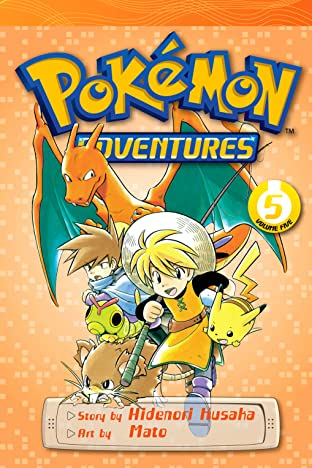 Pokémon Adventures (Red and Blue) Tome 5