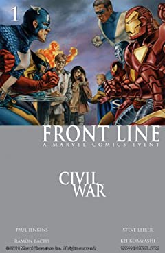 Civil War: Front Line No.1 (sur 11)