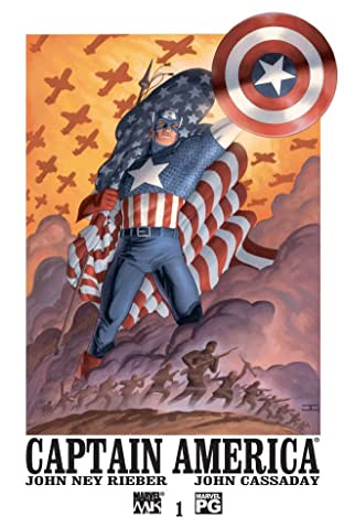 Captain America (2002-2004) No.1