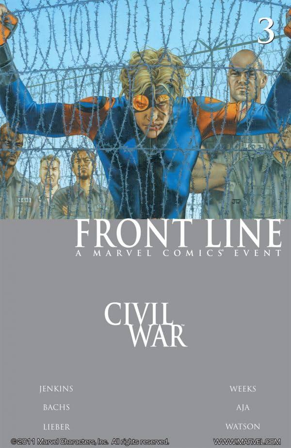 Civil War: Front Line #3 (of 11)