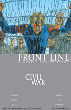 Civil War: Front Line No.3 (sur 11)