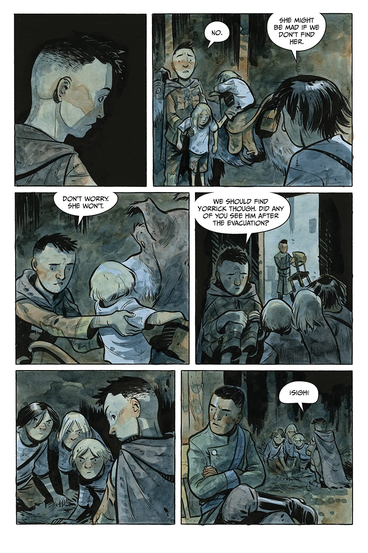 The Stone King (comiXology Originals) #3 (of 4)