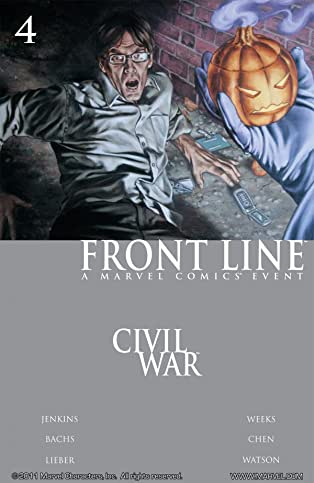 Civil War: Front Line #4 (of 11)