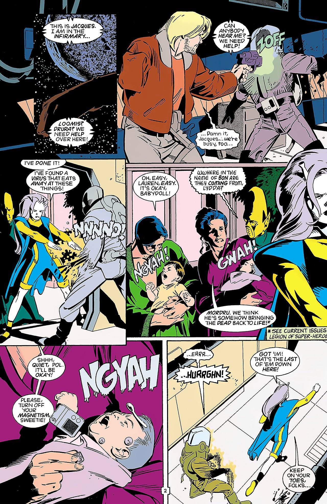 Legion of Super-Heroes Annual (1989-2000) Annual #4