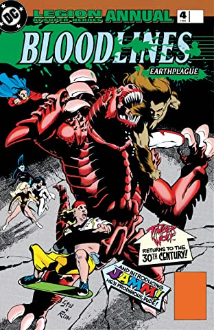 Legion of Super-Heroes Annual (1989-2000) Annual #4