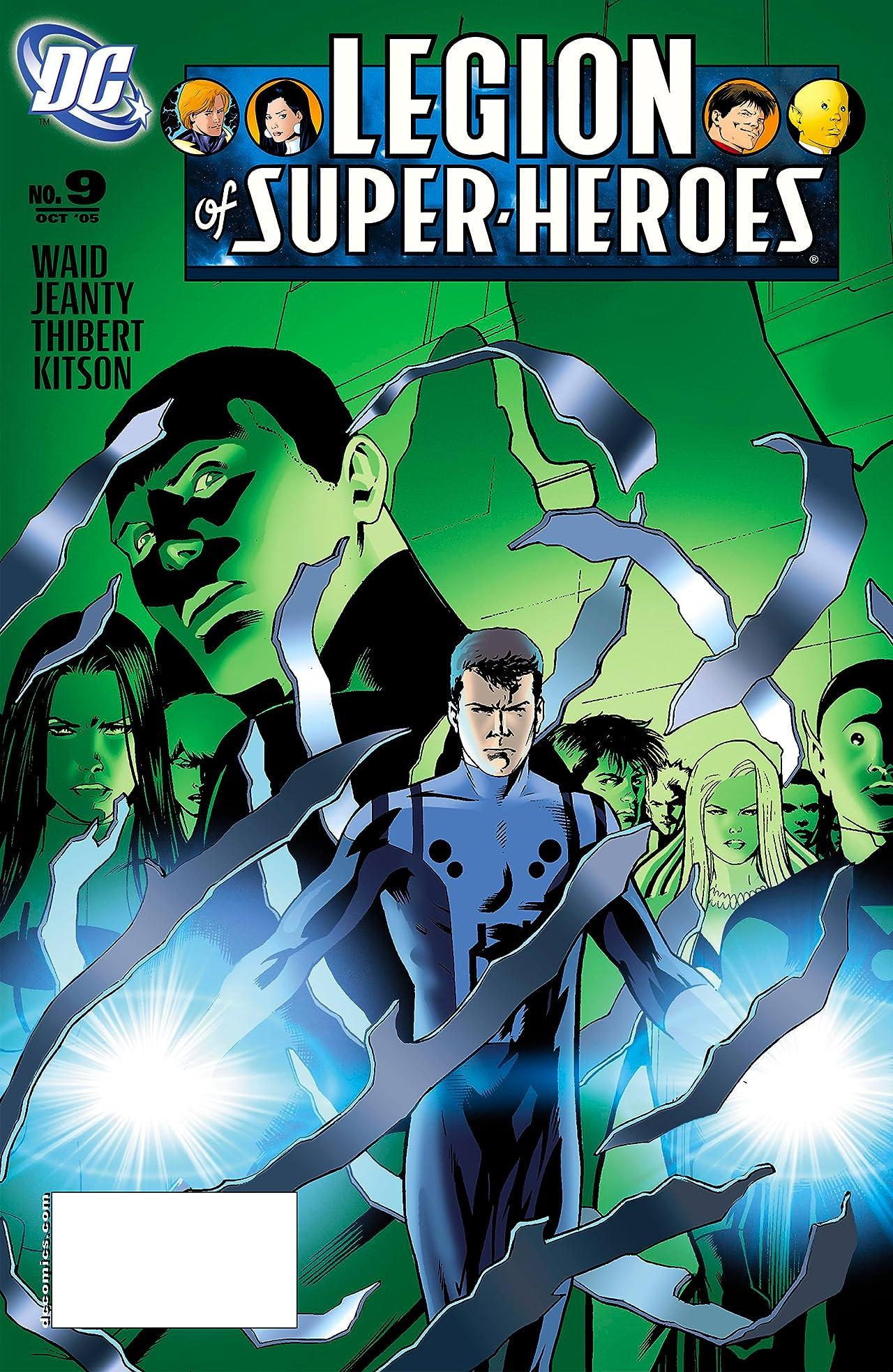 Legion of Super Heroes (2005-2009) #9