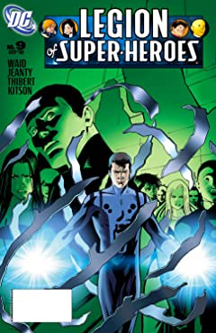 Legion of Super Heroes (2005-2009) No.9
