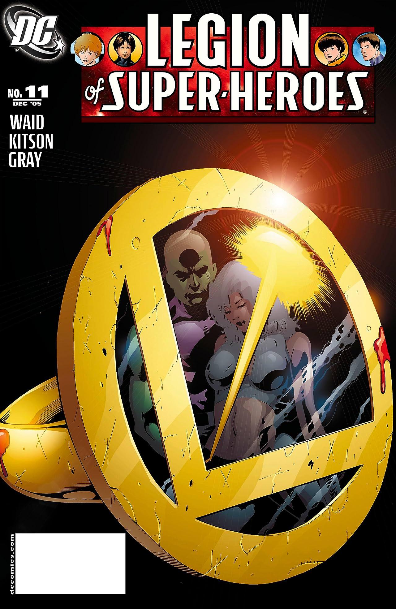 Legion of Super Heroes (2005-2009) #11