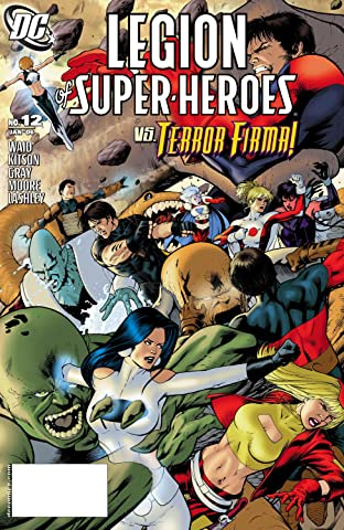 Legion of Super Heroes (2005-2009) #12