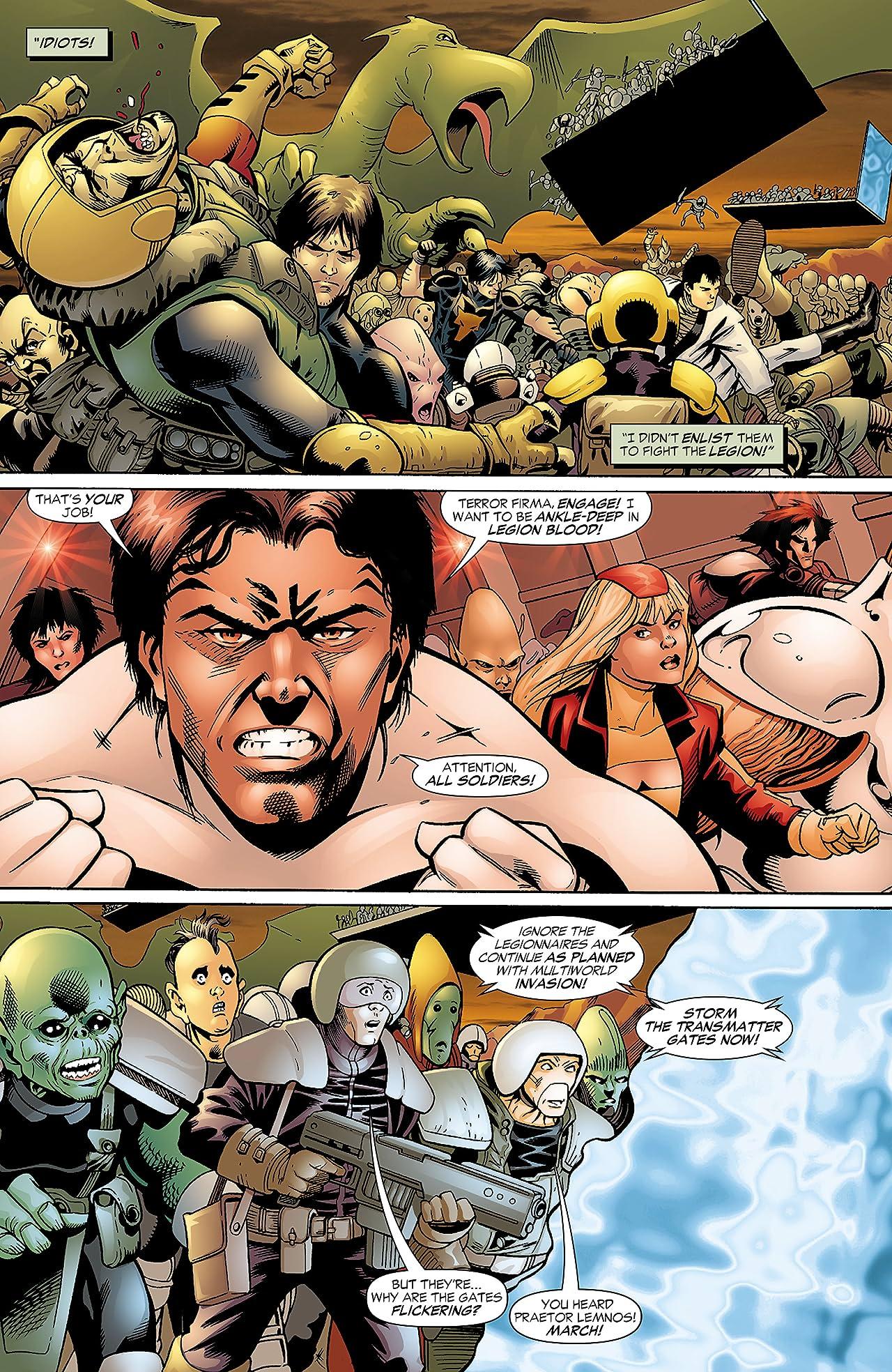 Legion of Super Heroes (2005-2009) #13