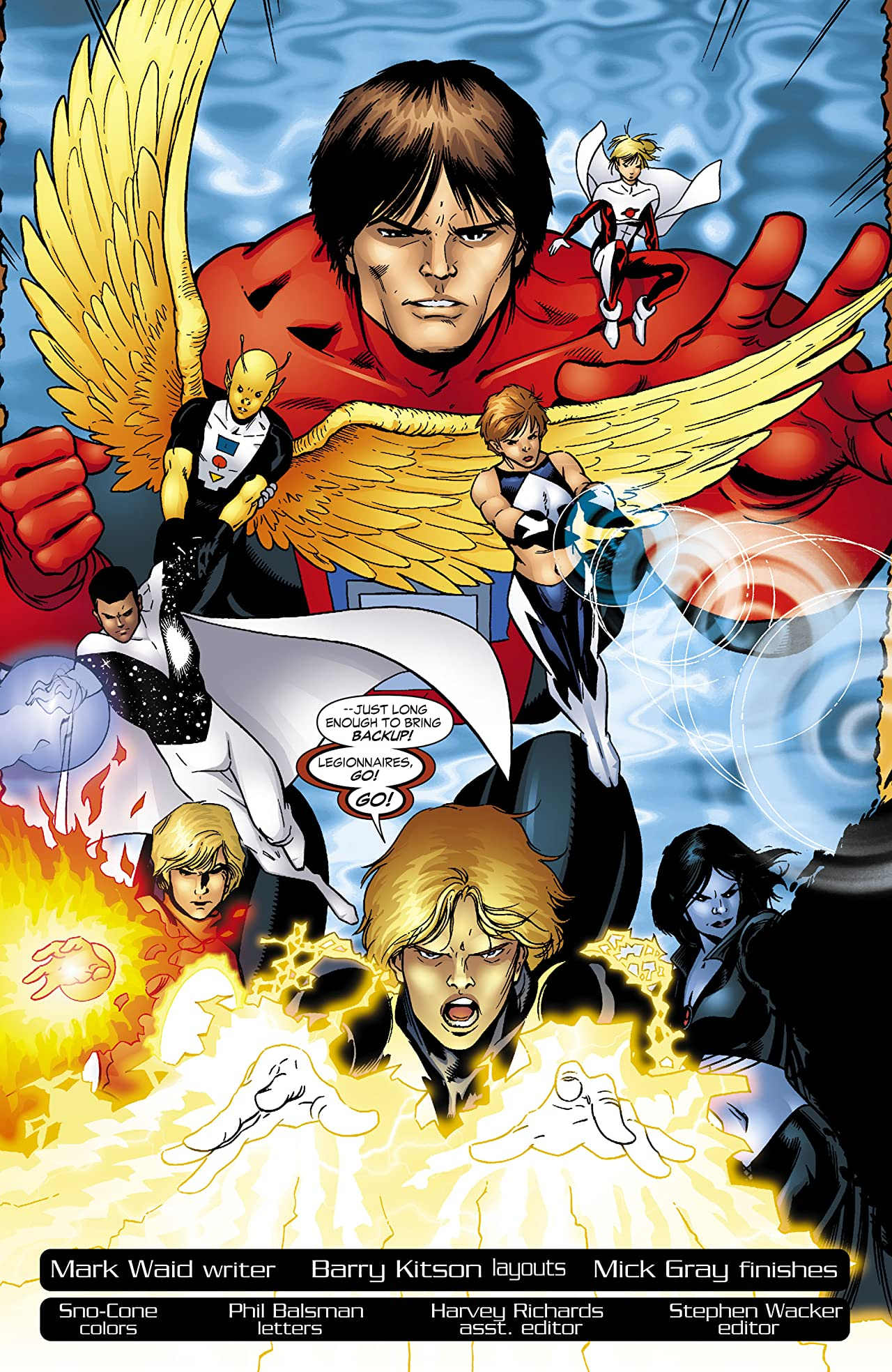 Legion of Super Heroes (2005-2009) #13