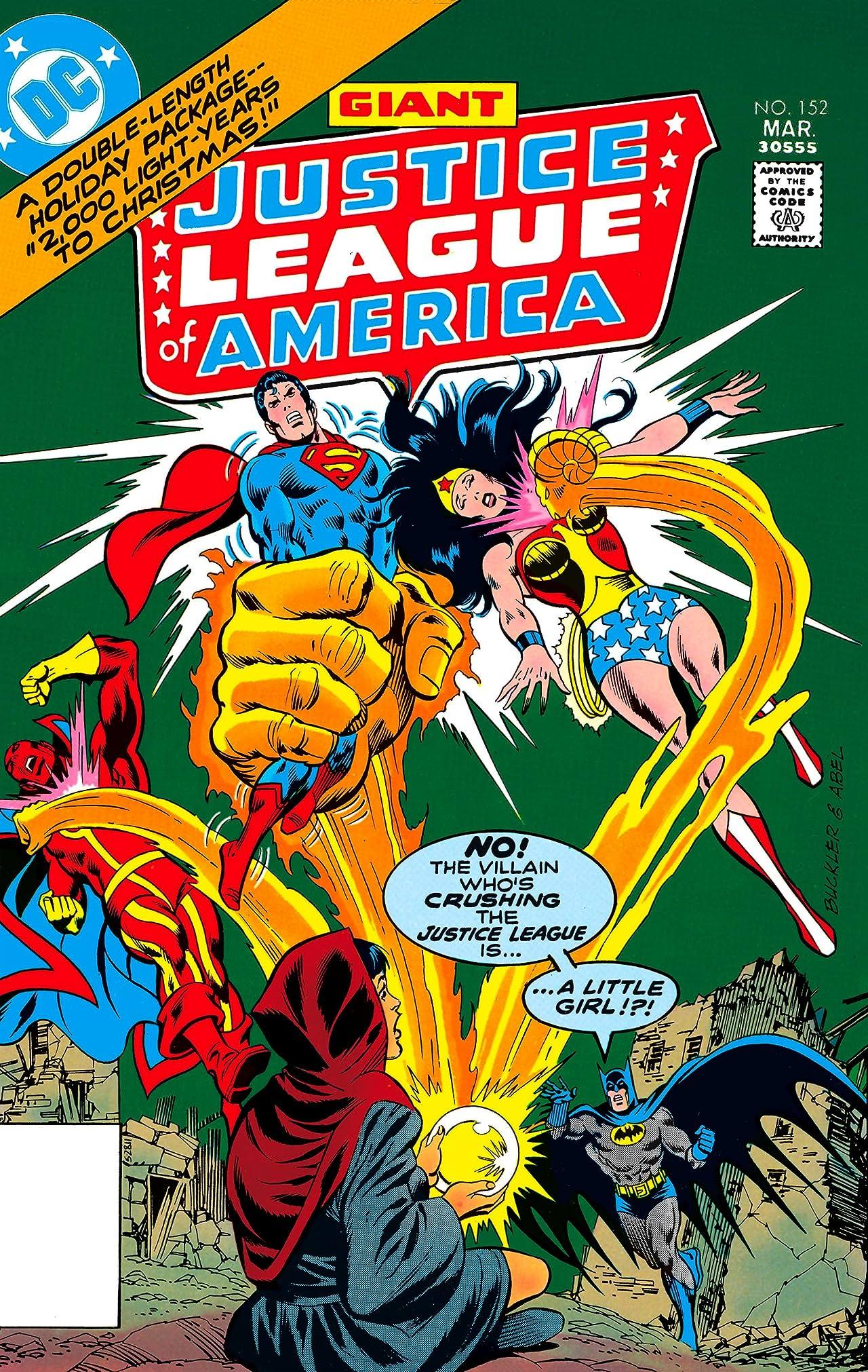 Justice League of America (1960-1987) #152