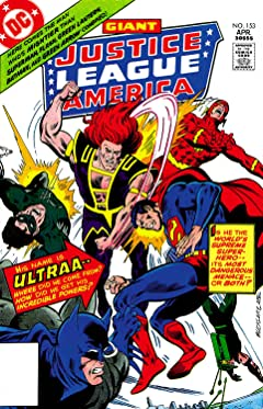Justice League of America (1960-1987) No.153
