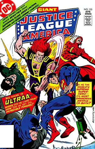 Justice League of America (1960-1987) #153